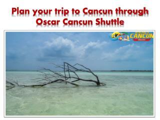 Plan for Transportation from Cancun to Holbox through Oscar Cancun Shuttle