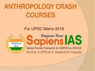 Anthropology Crash Course