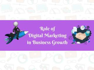 Role of digital marketing in business growth