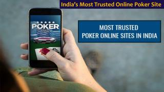 Play Poker Online at India's Most Trusted Online Poker Site