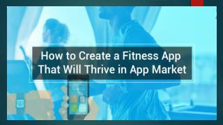 Create a Fitness Tracker App : Know the Key Aspects