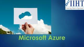 Azure Training | Microsoft azure certification | Azure Courses