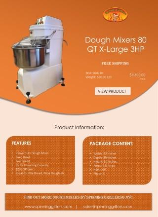 Heavy Electric Duty Dough Mixer | Free Shipping