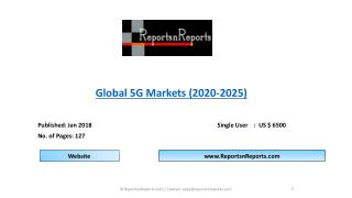 Global 5G Market Analysis by Test, Demonstration and Trials to 2025