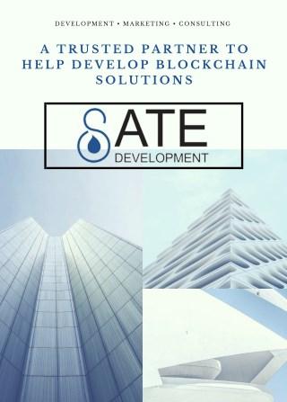 Blockchain Solutions - Sate Development