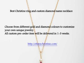 Customize Your Own Jewelry | Christine K Jewelry