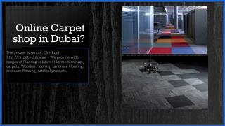 Online Carpet Shop in Dubai