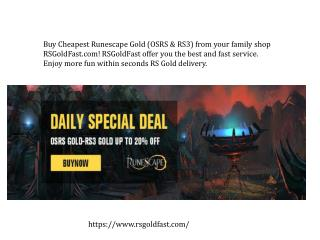 safest website to buy runescape gold - RSGoldFast.com