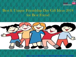 Best & Unique Friendship Day Gift Ideas 2018 for Best Friend