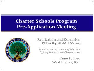 Charter Schools Program Pre-Application Meeting