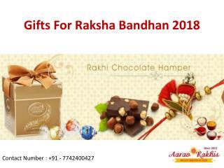 Gifts For Raksha Bandhan