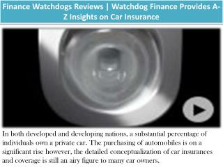 Finance WatchDogs | Master Managing Personal Finances with Watchdog Services