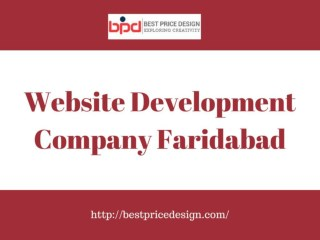 Best Website Development Company in Faridabad