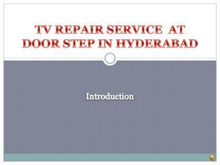 tv service hyderabad
