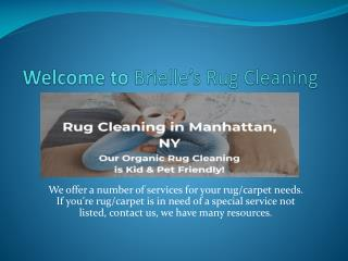 Brielle's Rug Cleaning