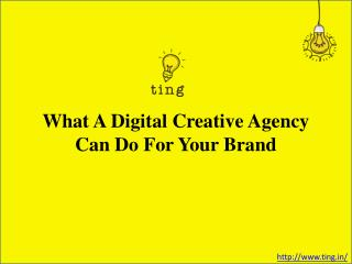 What A Digital Creative Agency Can Do For Your Brand