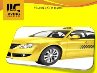 Yellow cab Irving