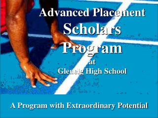 Advanced Placement Scholars Program at  Glenelg High School