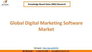 Global Digital Marketing Software Market to reach $77.4 billion by 2023