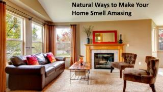 Tips to Make Your Home Smell Fresh