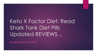 Keto X Factor - 100% Pure Natural and Ingredients Formula