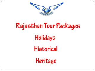 Rajasthan Tour Packages, Travel Package & Trip – ShubhTTC