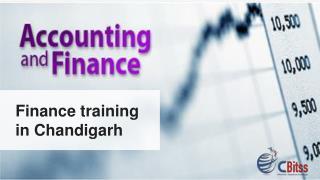 Finance training in chandigarh