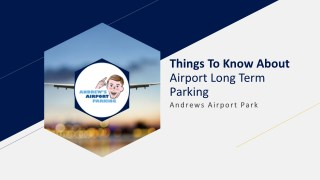 Things To Know About Airport Long Term Parking