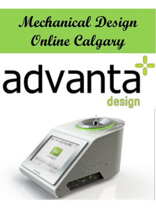 Mechanical Design Online Calgary
