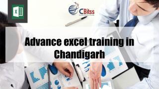Advance excel training in Chandigarh