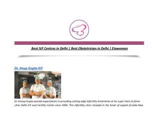 Best IVF Centres in Delhi | Best Obstetrician in Delhi | Elawoman