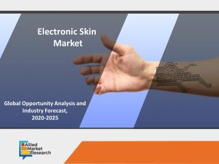 Electronic Skin Market: Know the Future Scenario of this Industry