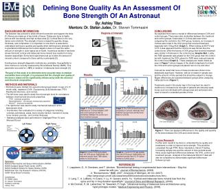 REFERENCES 1. Lepp nen, O., H. Siev nen, and T. J rvinen.  Biomechanical testing in experimental bone interventions   Ma