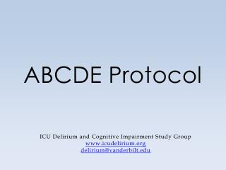 ABCDE Protocol