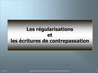 Reproduction interdite sans lautorisation  crite de MichelLaflamme