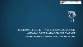 Global Oil and Gas Data Management Market