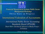 Financial Management Institute Public Sector Management Workshop