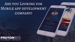 Mobile App Development Company - ProtonBits