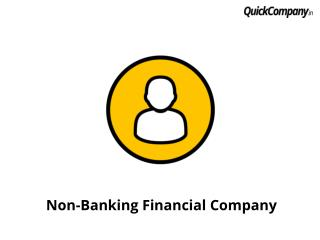 Introduction to Non-banking financial company