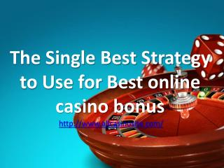 The Single Best Strategy to Use for Top 10 Casino sites UK