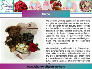 Flowers Delivery Lebanon