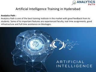 Learn AI | Artificial Intelligence Training in Hyderabad
