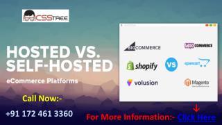Hosted Vs Self Hosted eCommerce Platforms