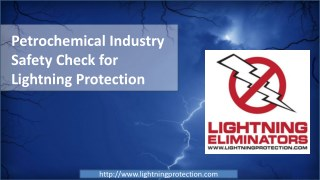 Petrochemical Industry Safety Check for Lightning Protection