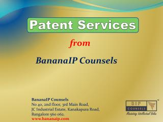 Patent Service - Leading IP Firm in India