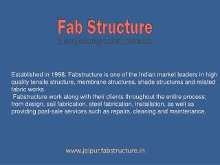 Tensile Structure In Jaipur - Tensile Fabric Structure Manufacturer
