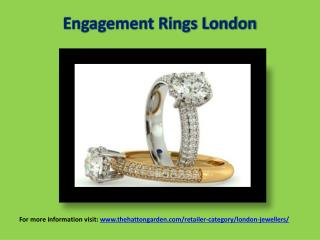 Engagement Rings London Jewellery Shop & jewellery store