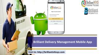 online delivery management software