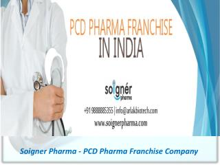 All You Want to Know About Pharma PCD Franchise in India