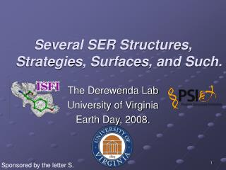 Several SER Structures, Strategies, Surfaces, and Such.